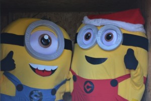 Minions visitors